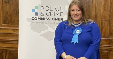 Hampshire elects first woman as new police and crime commissioner