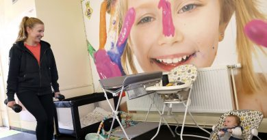 Maternity solution for children and fitness