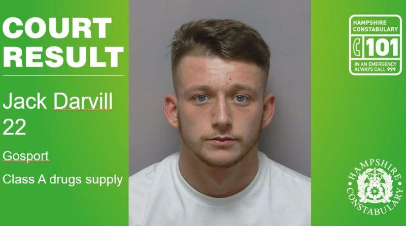 Seventh gang member jailed over Gosport drugs plot