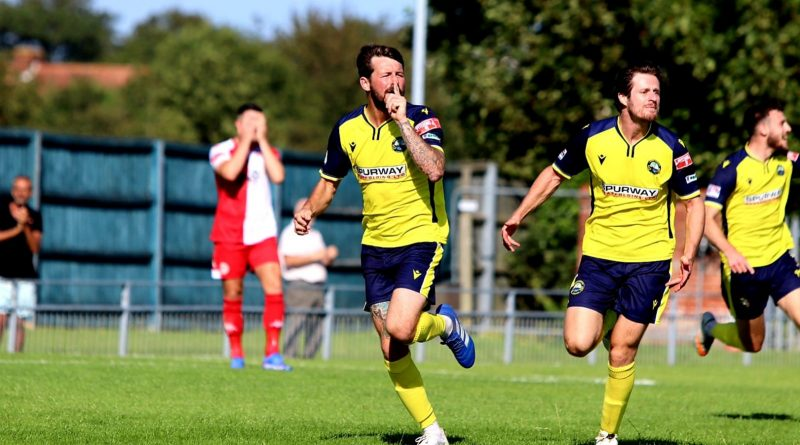 Gosport win thriller with late goal
