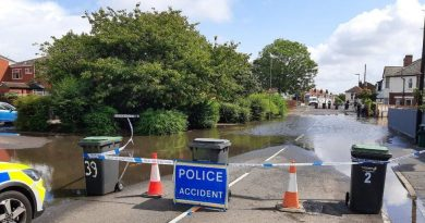 Gosport clears up flooding after heavy rain