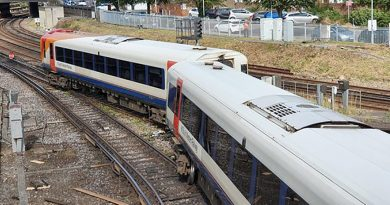 Train delays after Fratton derailment