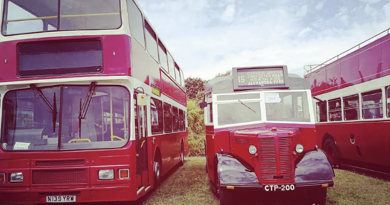 Buses line up after two year delay