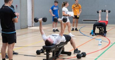Victory squadron Sailors Take on PT challenge for fellow sailor