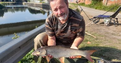 Plenty to carp about in search for the barbel